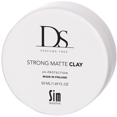 DS Strong Matte Clay -hajusteeton voimakas mattavaha 50ml