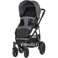 Britax Smile 2 - Steel Grey -rattaat + jalkapeite