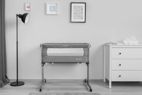 Säädettävä pieni sänky / sivuvaunu, Sleep2gether, grafiitti