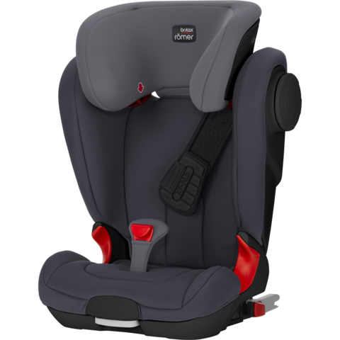Britax KidFix 2 XP SICT - Black Series - Storm Grey - 15-36kg