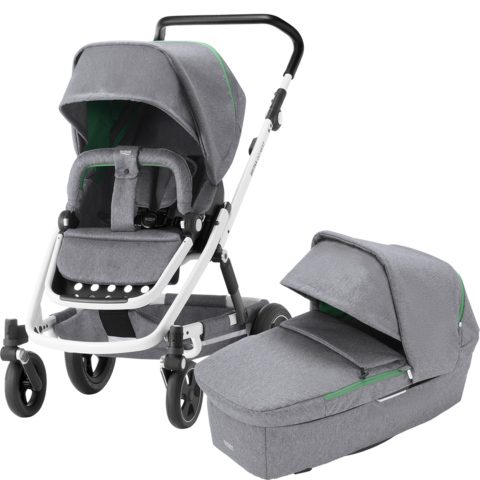 Britax Go Next², Go Next 2 - Dynamic Grey / White + SHR 2 Plus -turvakaukalo