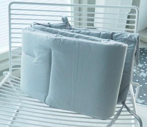 Reunapehmuste pinnasänkyyn, Eimi, Pure Grey, 360cm