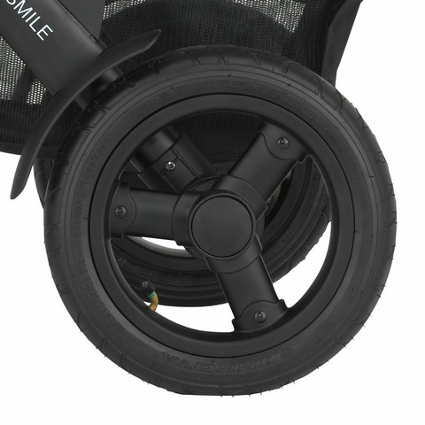 Takapyörä Britax Smile 2 - ilmakumipyörä, 1 kpl