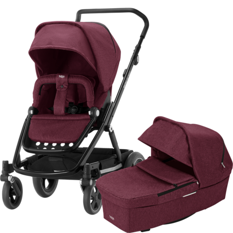 Britax Go Next², Go Next 2 - WineRed Melange / Black -  heti varastosta