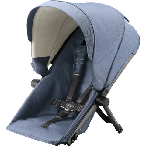 Britax B-Ready -sisaristuin, Blue Denim