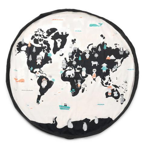 Play & Go -lelusäkki, Maailmankartta, Worldmap
