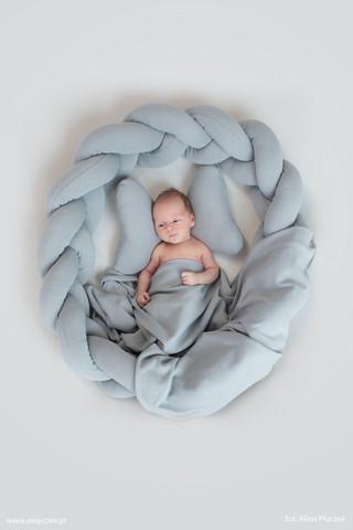 Unipesä Eimi, Letti - 2in1 - yksivärinen harmaa