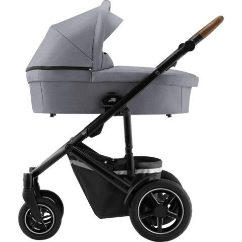 Britax Smile 3 - Frost Grey / Brown Handle -yhdistelmävaunu