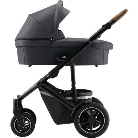 Britax Smile 3 - Midnight Grey -yhdistelmävaunu