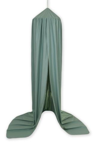 Pinnasängyn / kehdon iso katosverho, Salvia, vihreä - (Pure Salvia)