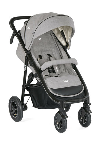 Joie MyTrax + adapterit (Maxi-Cosi/Cybex/Joie) - Grey Flannel