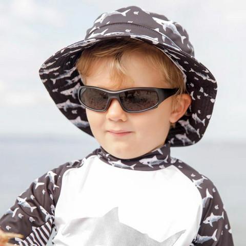 Aurinkolasit, Stonz Sunnies - Kid Sport - 2-6 v -musta