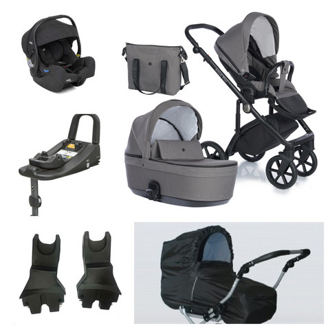 Travel System -starttipaketti - Nordbaby Nord Active Plus - Joie i-Gemm