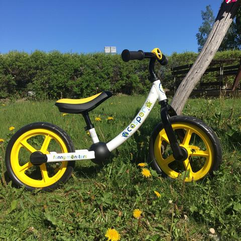 Potkupyörä Casper - 18kk ikäisestä eteenpäin, Funny Monster
