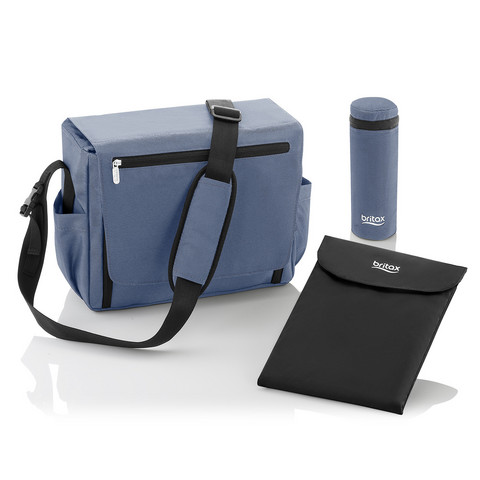 Hoitolaukku, Britax, Blue Denim
