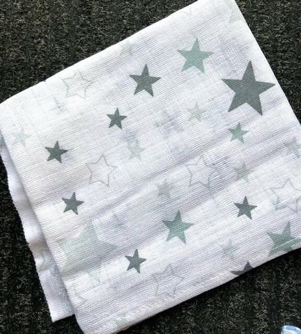 Kuvioidut harsot, valkoinen/ harmaa -tähti