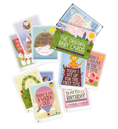 Milestone The Original Baby Cards - muistokortit lahjarasiassa