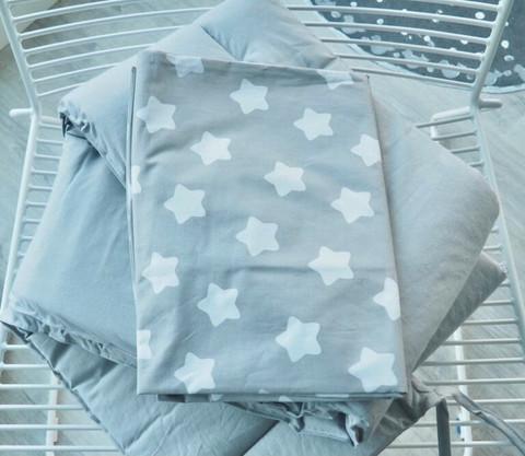 Reunapehmuste, pussilakana ja tyynynliina, Eimi, Pure Grey + Tähti 2.