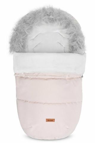Lämpöpussi, Indiana, karvareunuksella, Pink (vaaleapunainen), 100cm