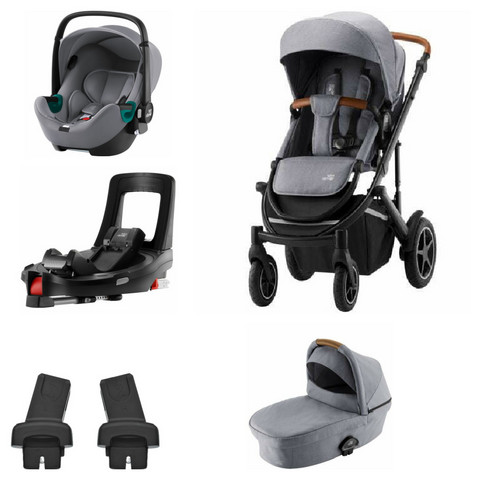 Britax Smile III - Travel System - Baby-Safe i-SIZE III + tarvikepaketti