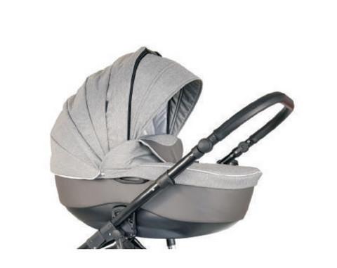 Vesta, Grey Melange / Grey Leatherette