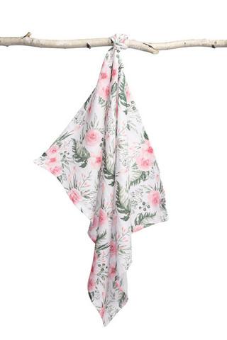 Kuvioidut harsot, 70x80, LUX - Rose Garden