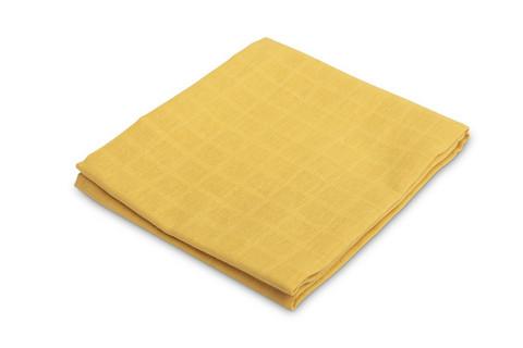 Kuvioidut harsot, 70x80, LUX - Sinapinkeltainen, yksivärinen