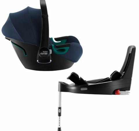 Britax Baby-Safe I-SIZE 3 -turvakaukalo + iSense -jalusta -bundle