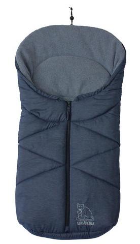 Kaukalolämpöpussi, dark blue melange, Eisbärchen