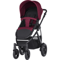 Britax Smile 2 -  Wine red - Travel System - Britax Primo + suojat + tarvike