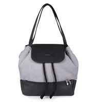 Hoitolaukku, Babyono Premium UpTown, musta/harmaa
