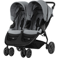 Britax B-Agile Double, Steel Grey
