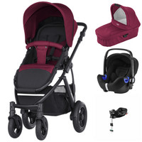 Britax Smile 2 - Travel System - Baby-Safe I-SIZE 2 + suojat + tarvike