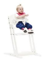 Baby Dan -syöttötuoli, valkoinen
