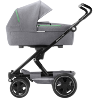 Britax Go BIG², Go Big 2 - Dynamic Grey / Black + vaunukoppa