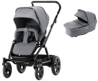 Britax Go Big², Go Big 2 - Steel Grey / Black + vaunukoppa