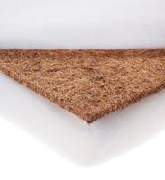 Pinnasängyn patja, kookos-vaahtomuovi, 120 x 60 x 9cm