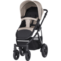 Britax Smile 2 - Sand Beige/Wood Brown - Special setti