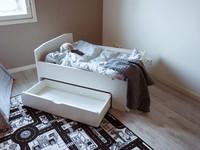 Kotimainen jatkettava lastensänkysetti, Nyytti + laatikko + patja