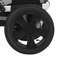 Takapyörä Brio / Britax Go NEXT -malliin - 2 kpl setti - 5-puolainen