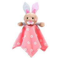 Vauvan pehmeä peitto + ensilelusetti, vaaleanpunainen