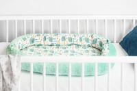 Vauvapesä, unipesä, babynest Coconut, minttu siili