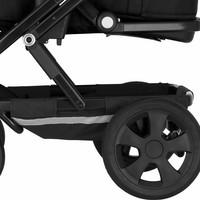 Takapyörä Britax GO BIG -malliin - 2 kpl setti - 5-puolainen/musta - TILAUSTUOTE