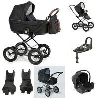 Travel System -starttipaketti - Nordbaby Nord Comfort Plus - Joie i-Snug