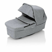 Britax Go BIG², Go Big 2 - Grey Melange / Black, Cognag -handle + vaunukoppa