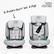 Britax Advansafix i-Size, isofix - 9-36kg, musta