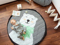 Play & Go -lelusäkki / lelumatto, pehmeä, Polar Bear