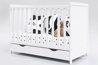 Pinnasänkysetti + aluslaatikko, Lilia -sängyllä
