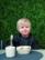 BabyWallaby -hihallinen ruokalappu, musta