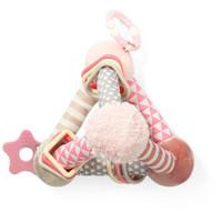 Opettavainen aktivointilelu vauvalle, Pyramid, vaaleanpunainen
